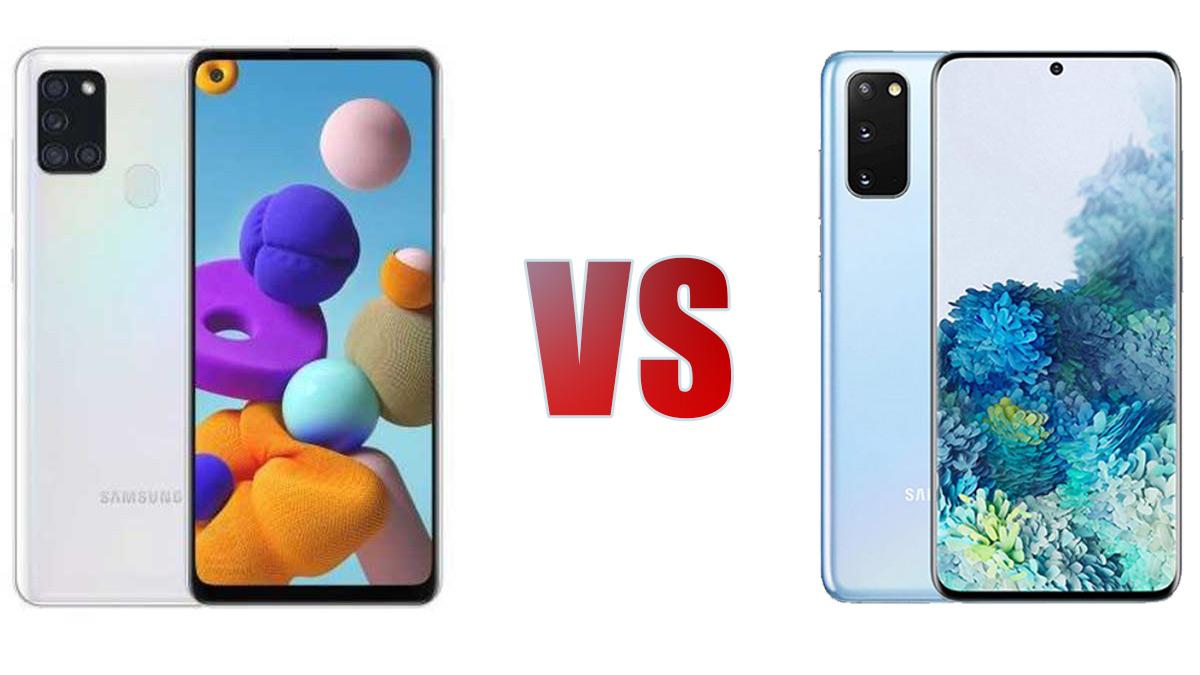 Galaxy S21 Vs Galaxy A21s Compara Los Dos Telefonos Specs Tech