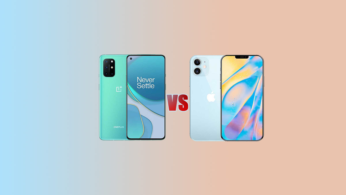 OnePlus 8T VS iPhone 12 Comparison ...