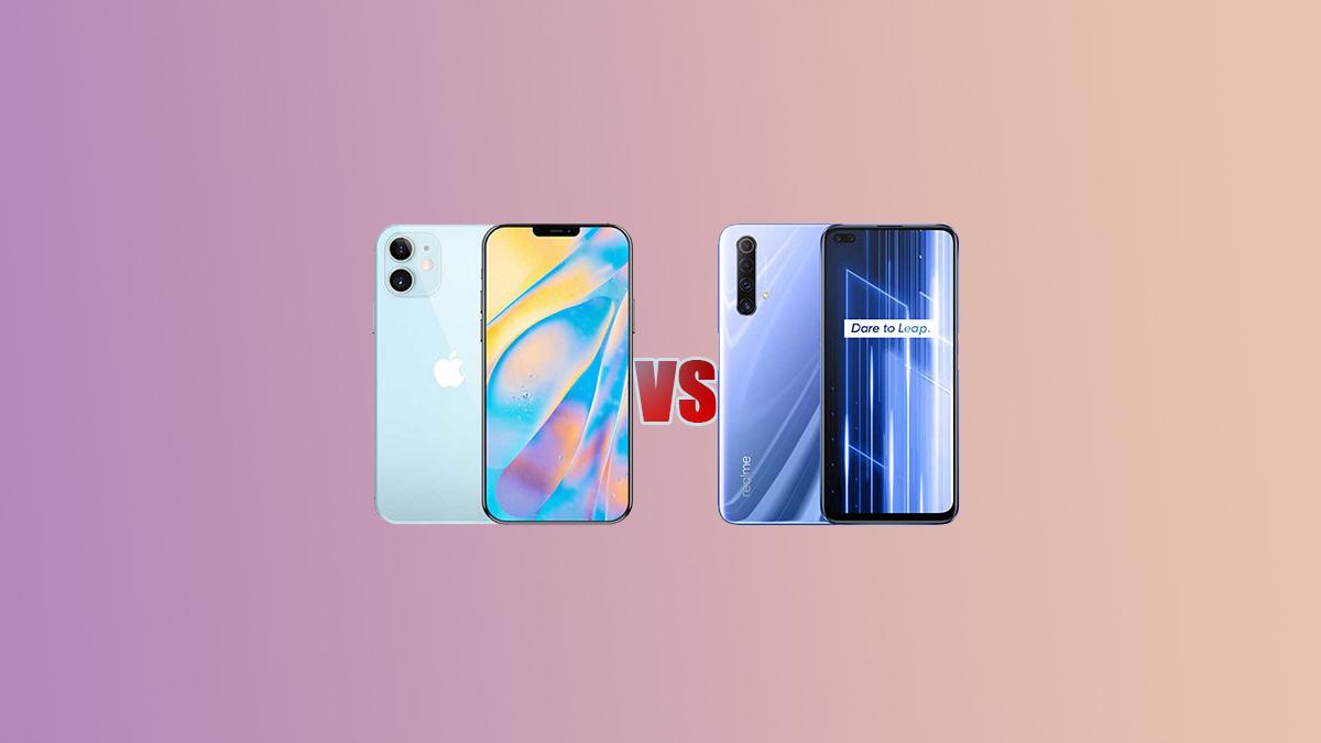 iPhone 12 VS Realme X50 5G Comparison - Specs Tech
