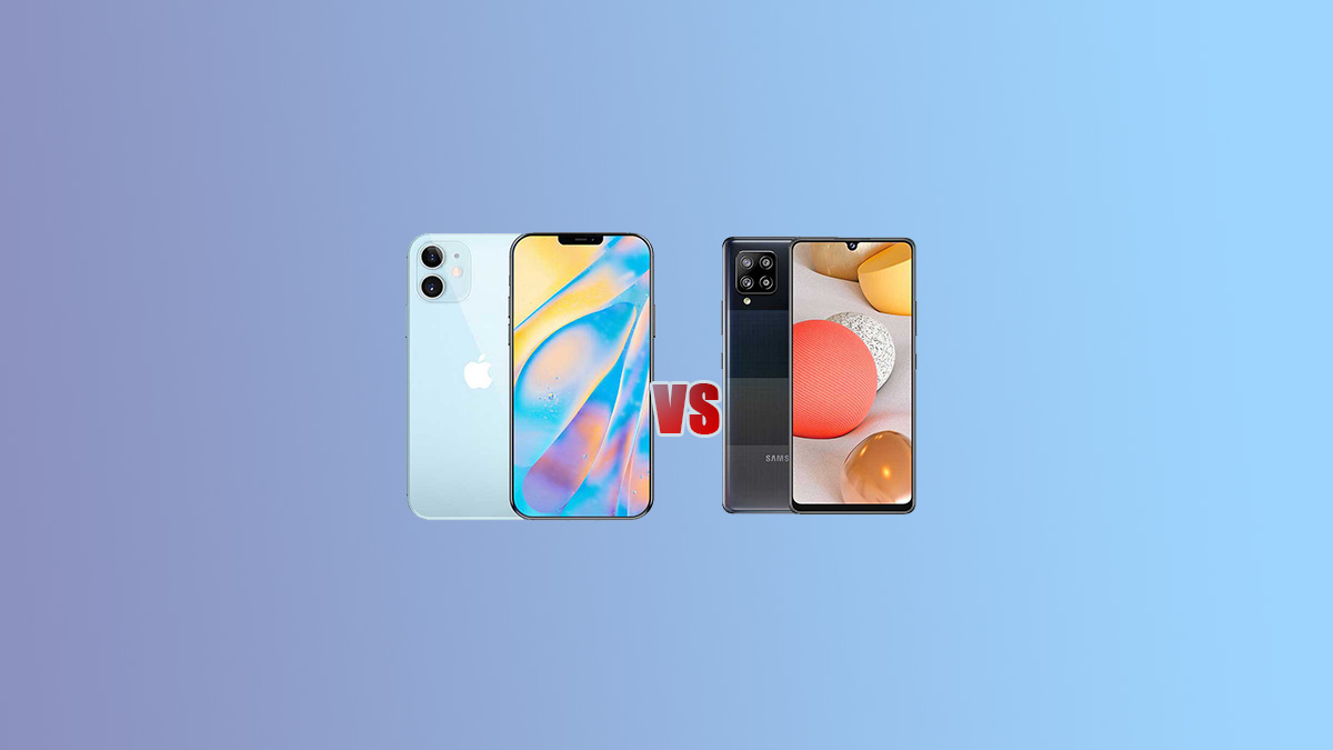 iPhone 12 VS Samsung Galaxy A42 5G Comparison - Specs Tech